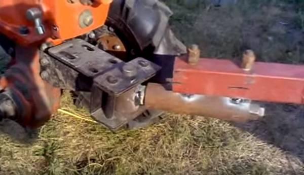 Как сделать прицепное устройство к тележке мотоблока 230