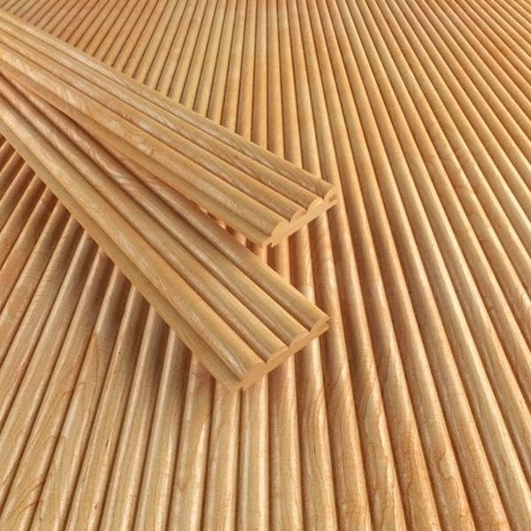 Деревянные обои: технические характеристики, преимущества и установка