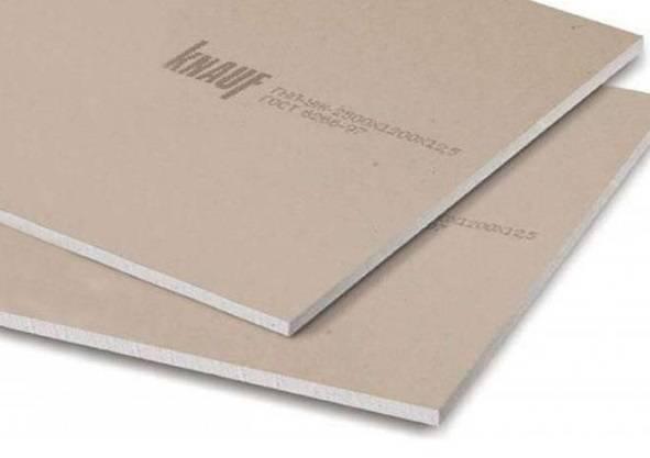Строительные материалы компании Кнауф: 3 вида гипсокартона