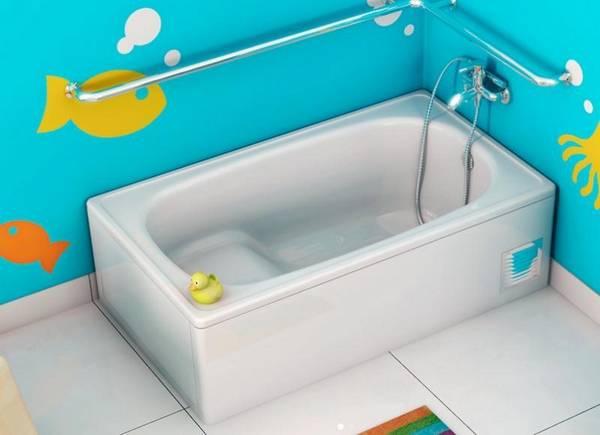 Короткие ванны: компактная мини 115х70, небольшие размеры и самая маленькая, капелька и квадратная малогабаритная