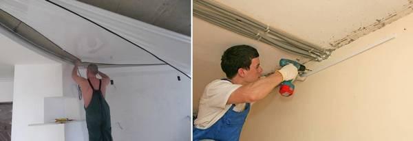 Монтаж натяжных потолков: видео конструкции своими руками, технология установки, уроки и правила процесса, фото, шпатель