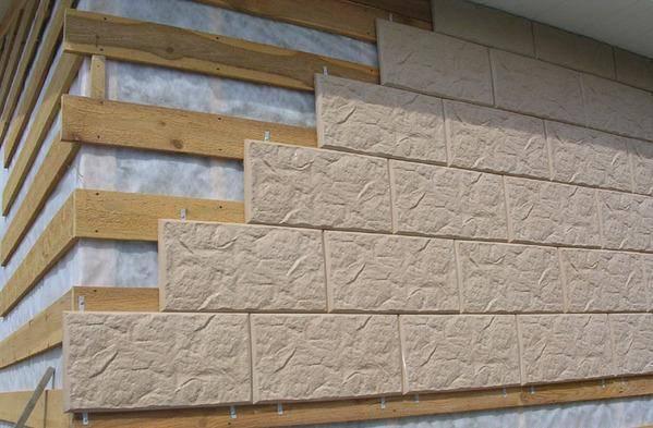 Цена отделки фасада облицовочным кирпичом