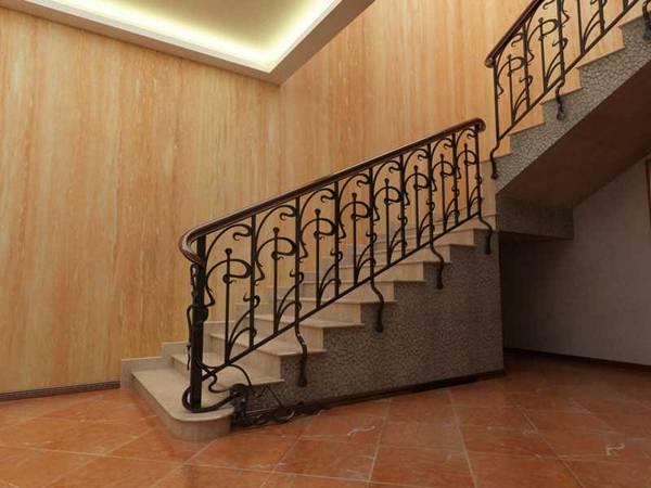 Лестничные ограждения, Перила для лестниц из нержавейки