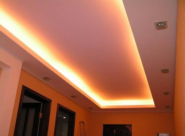 Потолки в прихожей фото дизайн: какой лучше для квартиры, комната глянцевая, точечные как сделать, низкий двухуровневый