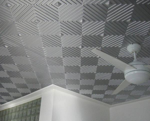 Потолок из пенопласта: панели своими руками, как сделать фото, как прикрепить декор, квадраты