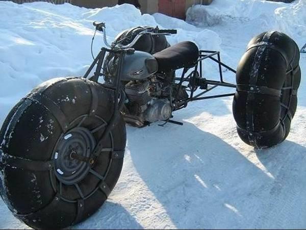 Как сделать самодельный трактор из мотоблока фото 974