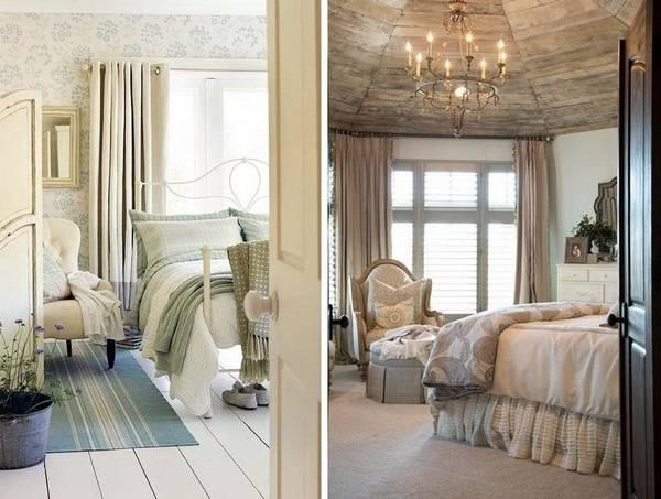 Дизайн спальни в стиле прованс своими руками 60