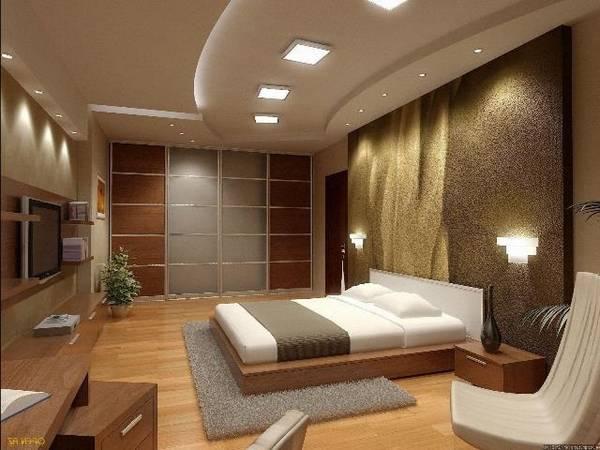 Подходящие светильники для спальни с фото